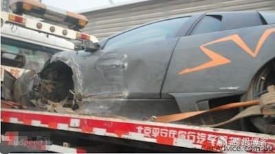 Lamborghini Murcielago Sv China Edition Crash Caradvice