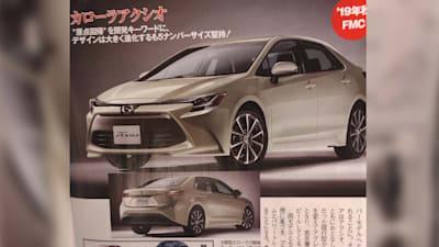 2019 Toyota Corolla Sedan Previewed By Japanese Leaks Caradvice