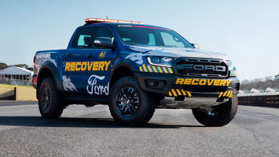 Ford Ranger Raptor Debuts In Supercars Recovery Trim Caradvice