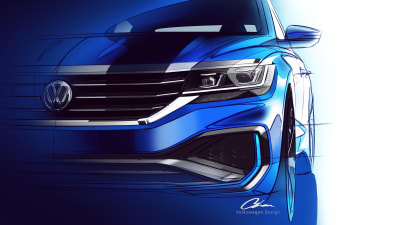 Passat Alltrack Usa >> 2020 Volkswagen Passat Teased For The Us Caradvice