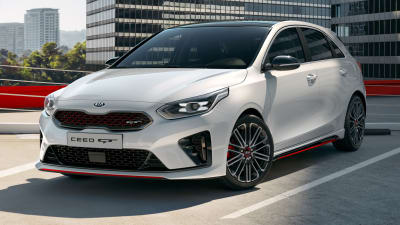 2019 Kia Cerato Gt Previewed Ceed Gt K3 Gt Revealed