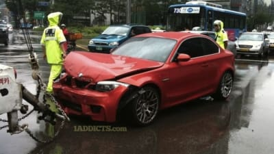 Bmw 1 Series M Coupe Involved In Four Crashes Already Caradvice