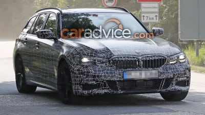 2019 Bmw 3 Series Touring Spied Caradvice