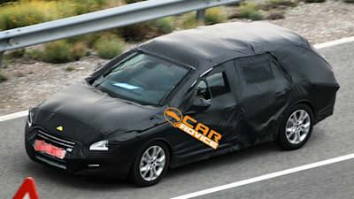2011 Peugeot 508 Station Wagon spy photos | CarAdvice
