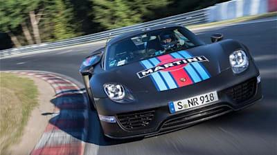 Porsche 918 Spyder smashes Nurburgring lap record   CarAdvice