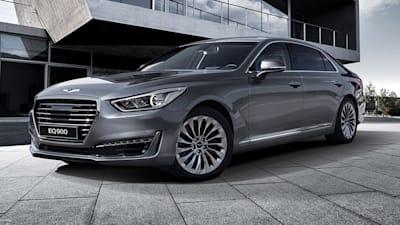 Genesis G90 Revealed In Korea Hyundai Unveils New Flagship