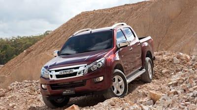 2012 isuzu d max launches in australia