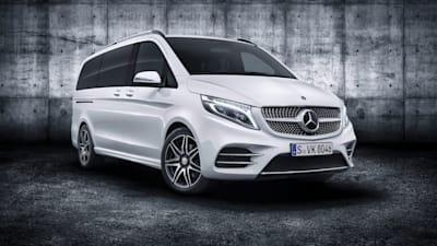 Mercedes V Class >> 2019 Mercedes Benz V Class Revealed Caradvice