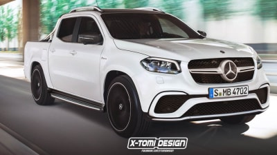 Mercedes Benz X Class Could Gain Amg Styling Pack But Won T Get A