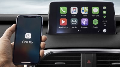 Toyota introduces Apple CarPlay and Android Auto in