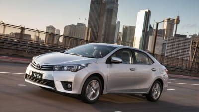 2014 Toyota Corolla Sedan Pricing And Specifications Caradvice
