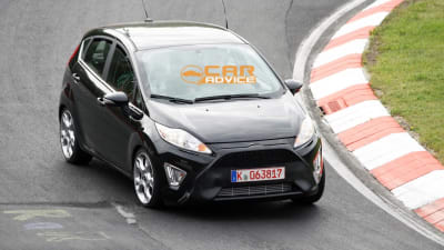 2012 Ford Fiesta St Revealing Spy Shots Caradvice
