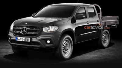 2018 Mercedes Benz X Class Cab Chassis Confirmed Caradvice