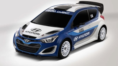 Hyundai I20 Wrc >> Hyundai I20 Rally Car On Track For Wrc Return Caradvice