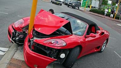 How To Crash A Ferrari Caradvice
