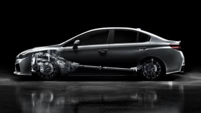 CVT automatic transmission for all-new Subaru WRX 'delivers