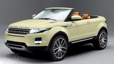 Range Rover Convertible >> Range Rover Evoque Convertible On The Way Caradvice