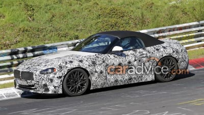 2019 Bmw Z4 Spied Inside And Out Launch Due Late Next Year Caradvice