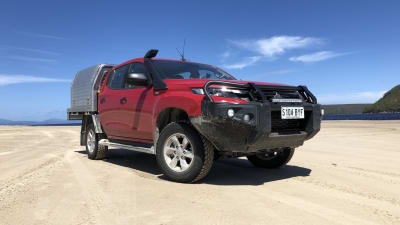 2019 Mitsubishi Triton bullbar: AEB tech's big change to