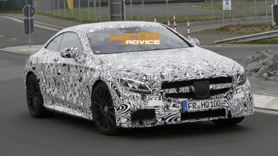 Mercedes Benz Germany >> Mercedes Benz S63 Amg Coupe Spied In Germany Caradvice