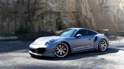 Gemballa GT Concept: 609kW 911 Turbo revealed at SEMA