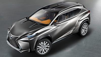Lexus Lf Nx >> Lexus Lf Nx Concept More Images Of Future Q5 X3 Rival