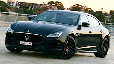 Maserati Quattroporte Gts >> Maserati Quattroporte Gts Gransport Nerissimo Edition