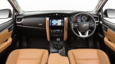 2016 Toyota Fortuner interior revealed | CarAdvice