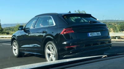 2018 Audi Q8 Spied Almost Completely Undisguised Caradvice