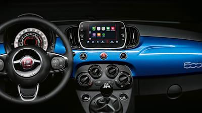 Fiat 500 Mirror.2017 Fiat 500 Mirror Adds Latest Smartphone Tech Caradvice