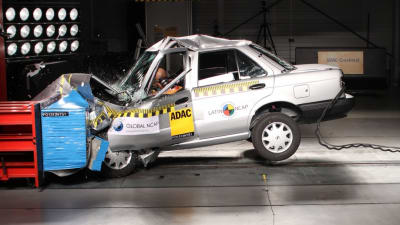 Nissan to end Tsuru production after earning zero-star crash