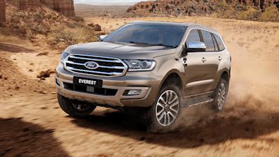 2019 Ford Everest Revealed Here In September Update