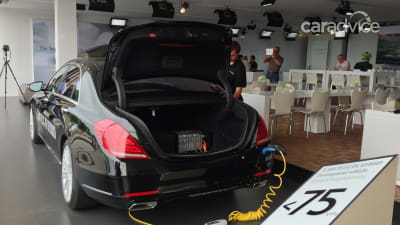 Mercedes-Benz S500 Plug-in Hybrid: 245kW-plus and less than