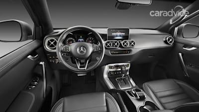 2018 Mercedes Benz X Class Ute Australian Details Emerge Photos