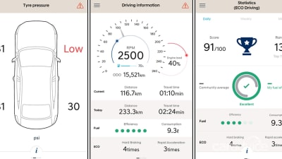 Hyundai i30 debuts new Auto Link app - photos | CarAdvice