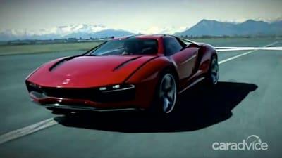 Italdesign Giugiaro Parcour All Terrain Supercar Revealed On