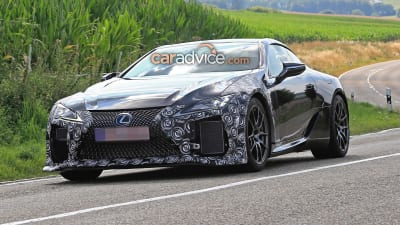 2020 Lexus Lc F Spied For The First Time Caradvice