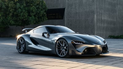 Toyota Ft 1 >> Toyota Ft 1 Concept Car Sports New Grey Exterior Classier