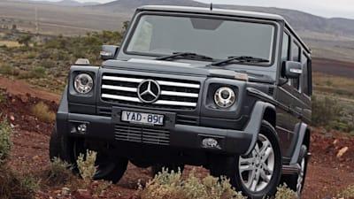 Mercedes-Benz G-Class broken by the Australian Outback