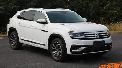 2020 VW Atlas Cross Sport, Changes, Price >> 2020 Volkswagen Atlas Cross Sport Leaked Caradvice