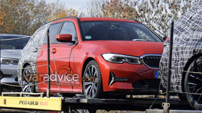 2019 Bmw 3 Series Touring Spied With Less Camouflage Caradvice
