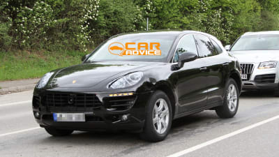 fff4284e6e Porsche Macan  first pictures of baby Cayenne