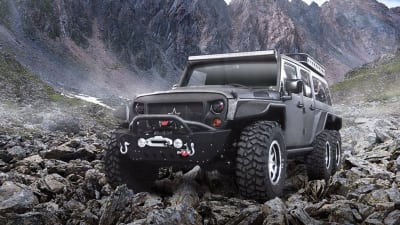 G Patton Tomahawk: 6x6 Jeep Wrangler unveiled in China