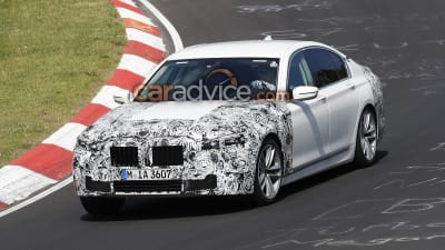 2019 Bmw 7 Series Facelift Spied Caradvice