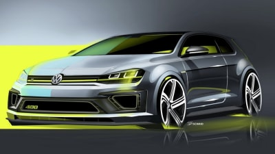 Golf R 400 >> Volkswagen Golf R 400 Concept 295kw 0 100 In 3 9 Seconds Caradvice