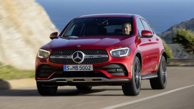 Mercedes benz glc coupe 2020