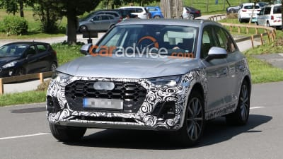 2020 Audi Q5: Plug-in Hybrid, Changes, Release >> 2020 Audi Q5 Spied Inside And Out Caradvice