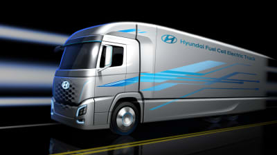 South Korea plans for hydrogen fuel-cell trucks to replace