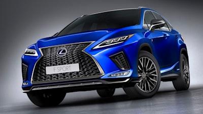 2020 Lexus Rx 350 Options