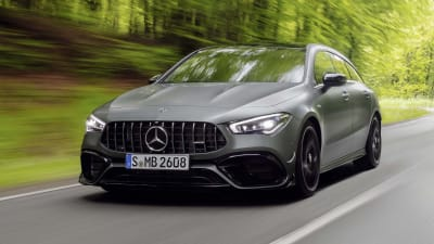2020 Mercedes Amg Cla45 Shooting Brake Revealed Not For Oz
